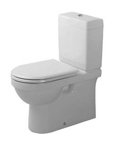 Duravit STARCK 2 compatible WC toilet seat soft close